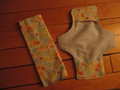 tri-fold liner folded