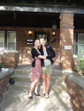 Stayed at the Summer in the City house with Elise Kulik!