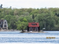 the little house on the tiny island.