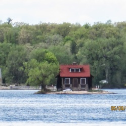 the little house on the tiny island.