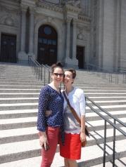 mom and I at Saint Paul's
