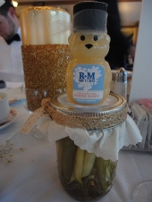 Dilly Beans and Staver Honey - cute!