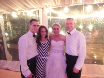 So special to see them become husband and wife!