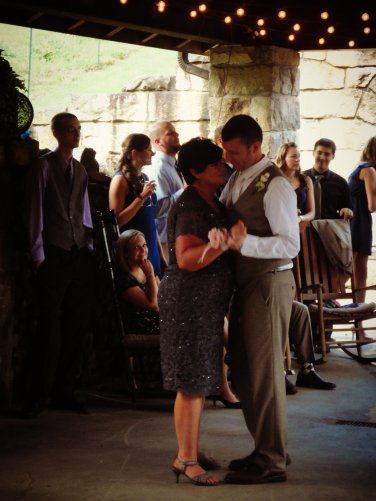 "ok legitimately sobbed during mother/son dance to Rascal Flatts ""My Wish"""