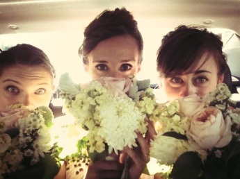 loved the bouquets.