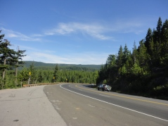 Driving to Sunriver