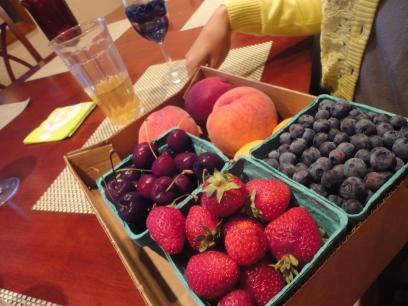 Nanneman. Berries. Pickin for ya kitchen.