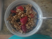making my cereal so tasty.