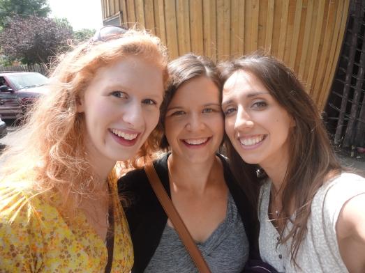 Las tres amigas.