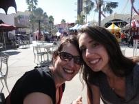 Taking a break and enjoying the Florida sunshine