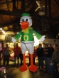Civil War - Oregon vs Oregon State. 6 foot duck pinata. filled with twinkies and other hostess yummies.