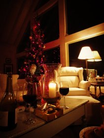 cozying up for an evening by the fire.