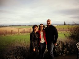 Wine tasting with Doug and Lori!