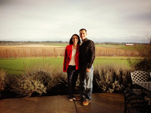 At Methven Vineyard.