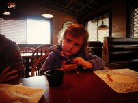 My cousin's sweet 3 year old daughter, BraeLynn. She is so funny - just like her dad!