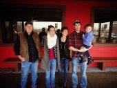 Papa, me, Grams, Jordan and Braelynn