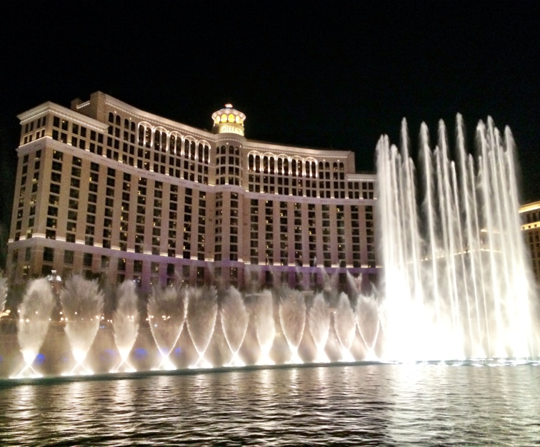 Belagio fountain show