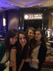 Lily's Bar and Lounge at the Belagio.