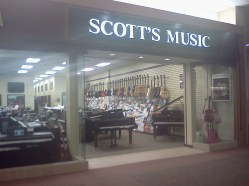 This one is for Scottie Ostlund. This is a store at our mall.