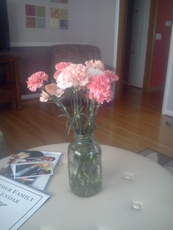 Flowers for Mother's day!