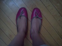 the shoes I was wearing when I met Josh.