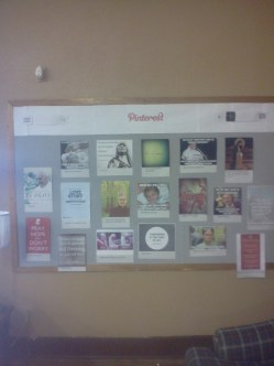 the pinterest board I made for the youth room.