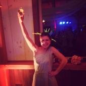 Lady Liberty herself.