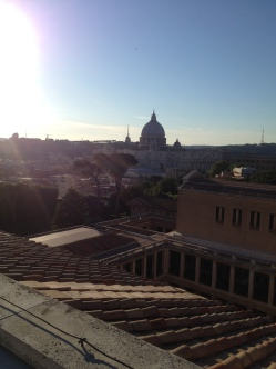 View from the top of the PNAC
