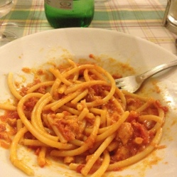 Bucatini al' amatriciana