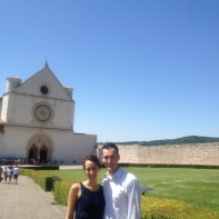 Basilica of St Francis - loved seeing the frescoes!