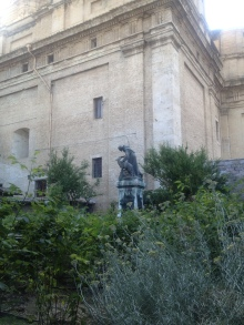 The garden at San Maria de Angeli. Didn't spend nearly enough time there as I would have liked, but so glad we stopped in!
