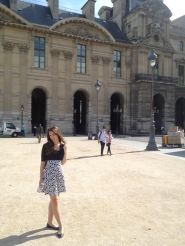 First full day in Paris, we went to the Louvre. I have to say, I think it was one of the best days ever. Just the perfect pace, perfect company.