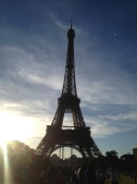 Eiffel in love with Paris and so did Josh.
