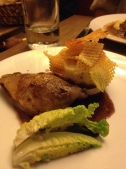 Dinner at Cafe Constant - I had the duck - so good.