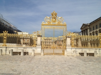 Versailles! Another amazing day.