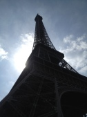 Came back into the city and had some free time. Chose to take a nap under the Eiffel.