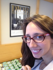 Until someone pointed it out, I forgot that I was wearing my Dior glasses in the hometown of Dior!