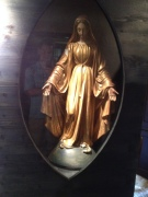 Bernadette's favorite statue of Mary.