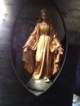 Bernadette's favorite statue of Mary.
