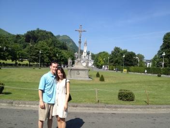 Entering Lourdes