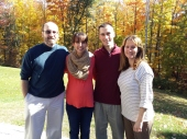 Family! Papa John and Oma Liesl.
