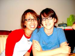 That one time Sarah and I realized we looked like sisters...when Josh's mom called me Sarah! Now we really are sisters!