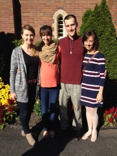 After Mass at St Jude's