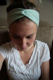 Mint Turban Headband for Mamas. I have it. I love it.