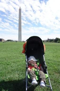 Just gonna snooze through the Washington Monument.