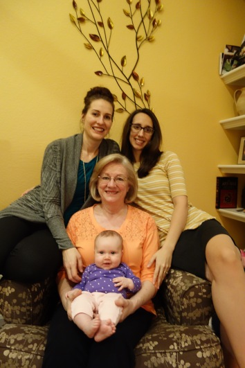 4 generations of Steward women