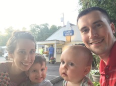 Family Ice Cream at the Dairy Shed on my 27th birthday