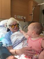 Visiting with Grandma Hammer