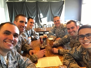 Josh and his fellow AFIT instructors