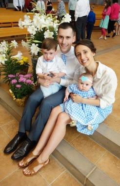 Easter Mass at our parish, Saint Francis